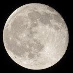 月 はじめての直焦点撮影