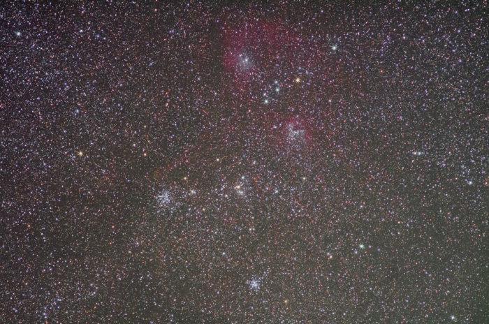 勾玉&ドクロ星雲とM36・M38