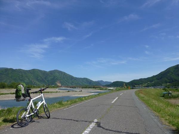 初バイク輪行!