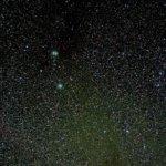 昴とカルフォルニア星雲
