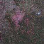 北アメリカ・ペリカン星雲