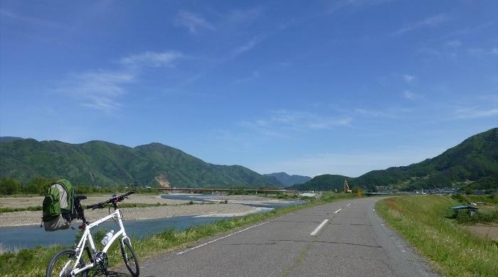 千曲川サイクリングロード
