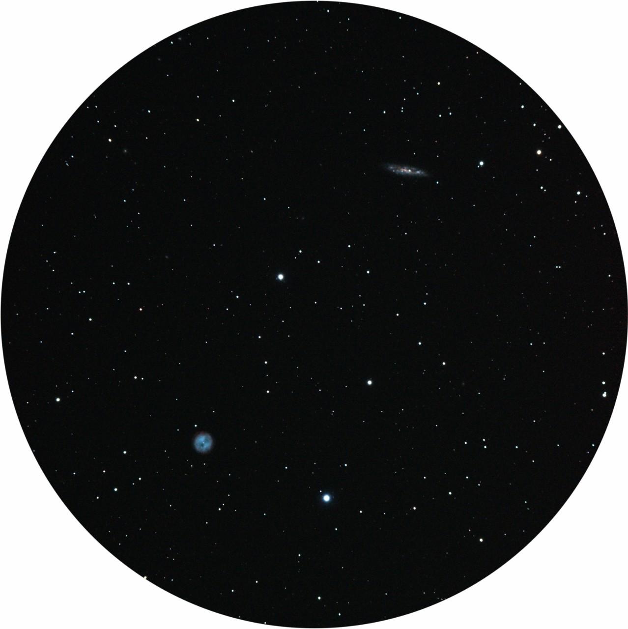 ふくろう星雲M97&M108