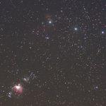 オリオン三ツ星とM42