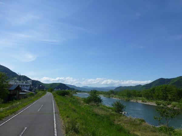 千曲川自転車道ぎこぎこ
